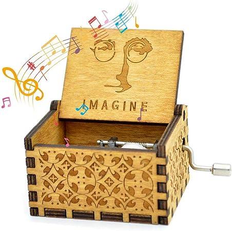 Womdee Music Box Imagine Theme, Manual De Caja De Música Clásica ...