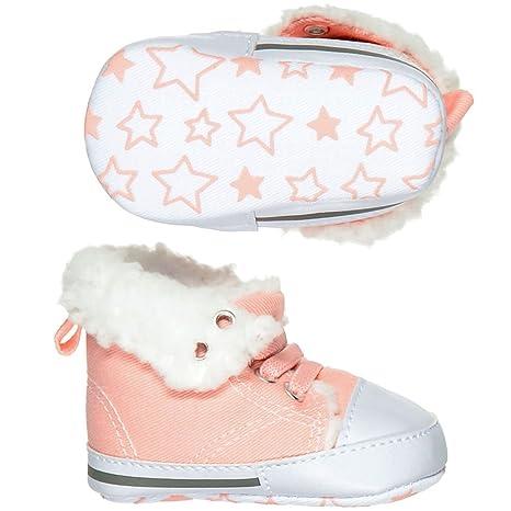 Staccato Unisex - Baby Baby-Sneaker mit Fellfutter - Grau (223006842):  Amazon.de: Bekleidung