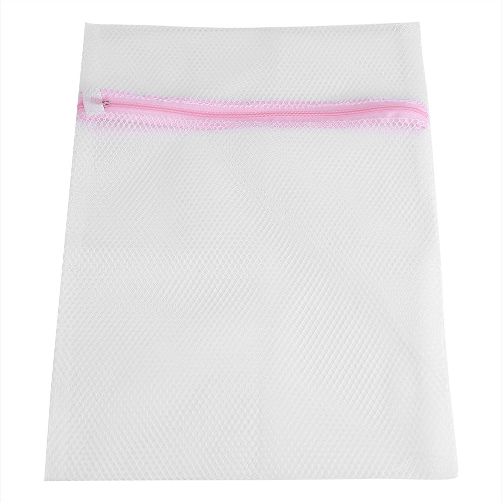 Mesh Laundry Bags, Durable Washing Bags with Zip Closure Large Mesh and Fine Mesh for Machine Washing Lingerie, Tights, Socks and Underwear(Coarse net 30 * 40cm) Haofy