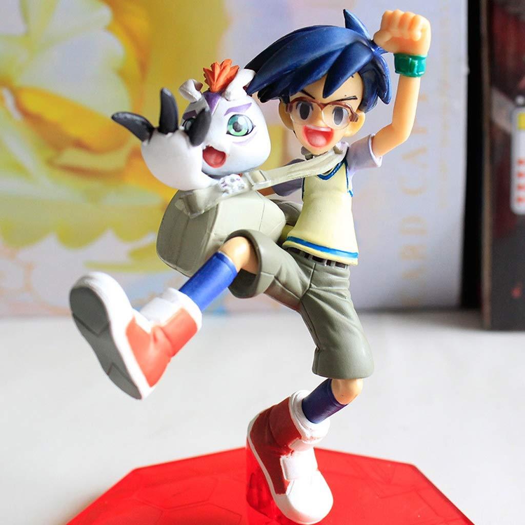 WSWJJXB Jouet Figurine numérique bébé Jouet modèle Anime voitureactère Artisanat décorations Chengzhanghu Goma bête 12CM