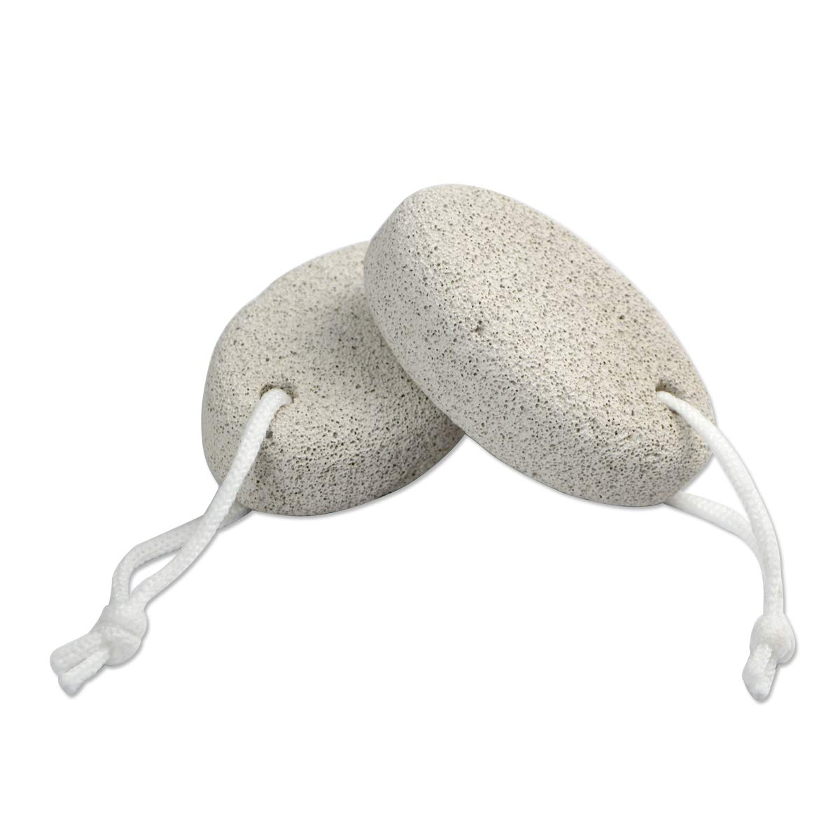 DEELING STYLE 2 Pack Foot Pumice Stone for Feet Hard Skin Callus Remover and Scrubber: Beauty