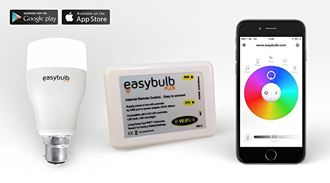control lighting with iphone. Contemporary Lighting Easybulb Milight Iphone Controlled RGBW Colour Changing Light Bulb LED   Wifi Box Android IPad Throughout Control Lighting With