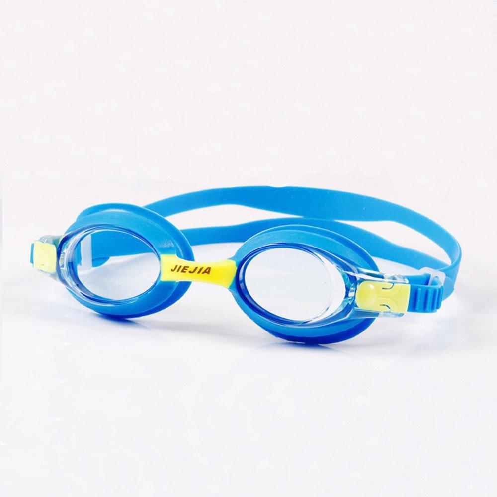 ITODA Schwimmbrille Ohne Leakage Anti Beschlag für klare Sicht Sport Wasserdicht Silikon Brille UV Schutz One Size Großartig für die Kinder Jungen Mädchen ITODAUK