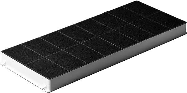 Filtro de carbón como Neff 00296178 para campana extractora de humos de Neff Bosch Siemens filtro de carbón activo 430 x 175 mm: Amazon.es: Hogar