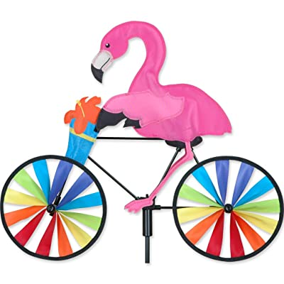 Premier Kites 20 in. Bike Spinner - Flamingo: Garden & Outdoor