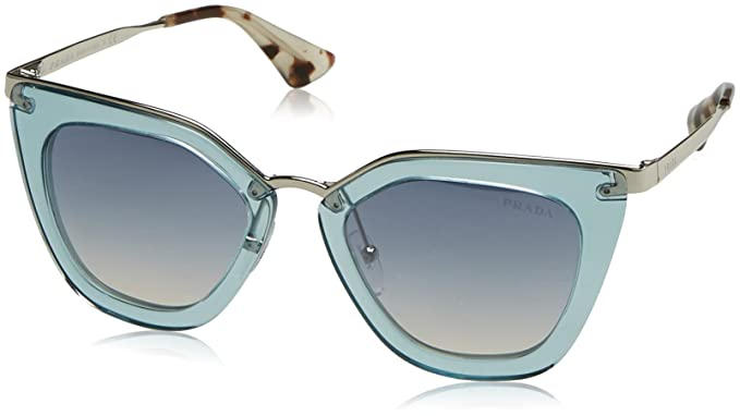 4797075f71 Amazon.com  Prada Women s Transparent Sunglasses