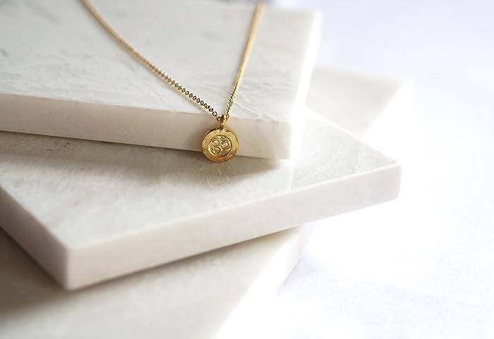 Amazon Om Aum Symbol Pendant Necklace 14k Gold Filled Pendant