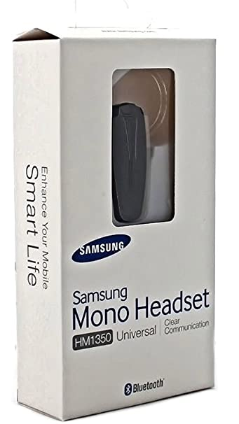 Samsung Bluetooth Headset Hm1350 In Original Box Mono Single Ear Includes Charger For Mobile Phones With Bluetooth Device Buy Samsung Bluetooth Headset Hm1350 In Original Box Mono Single Ear Includes Charger For Mobile Phones With Bluetooth Device
