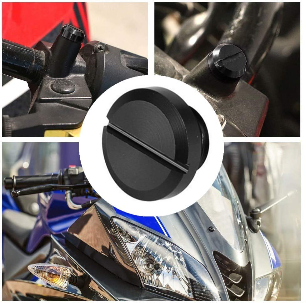 4 Pcs Motorcycle Mirrors Screws 10mm Motorcycle Mirrors Screws Motorcycle Screws for Most Universal Motorcycles