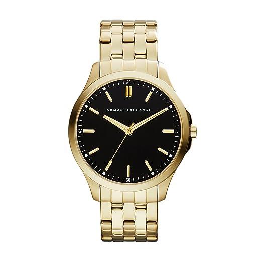 32217f4bba4 Buy Armani Exchange Hampton Analog Black Dial Men s Watch - AX2145 ...
