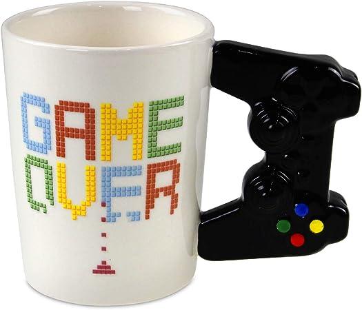 Todo para el streamer: Taza Game Over mando de consola Original Graciosa Puckator