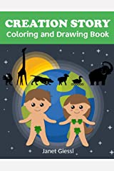 Creation Story Coloring and Drawing Book Paperback