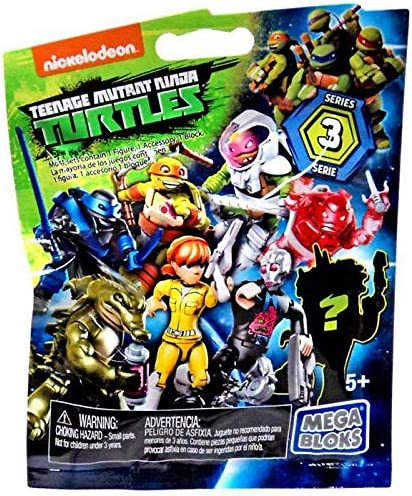 Nickelodeon Teenage Mutant Ninja Turtles Mega Bloks Series 3 (6 Pack)