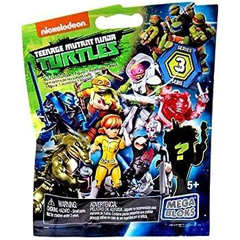 Nickelodeon Teenage Mutant Ninja Turtles Mega Bloks Series 3 (6 Pack)