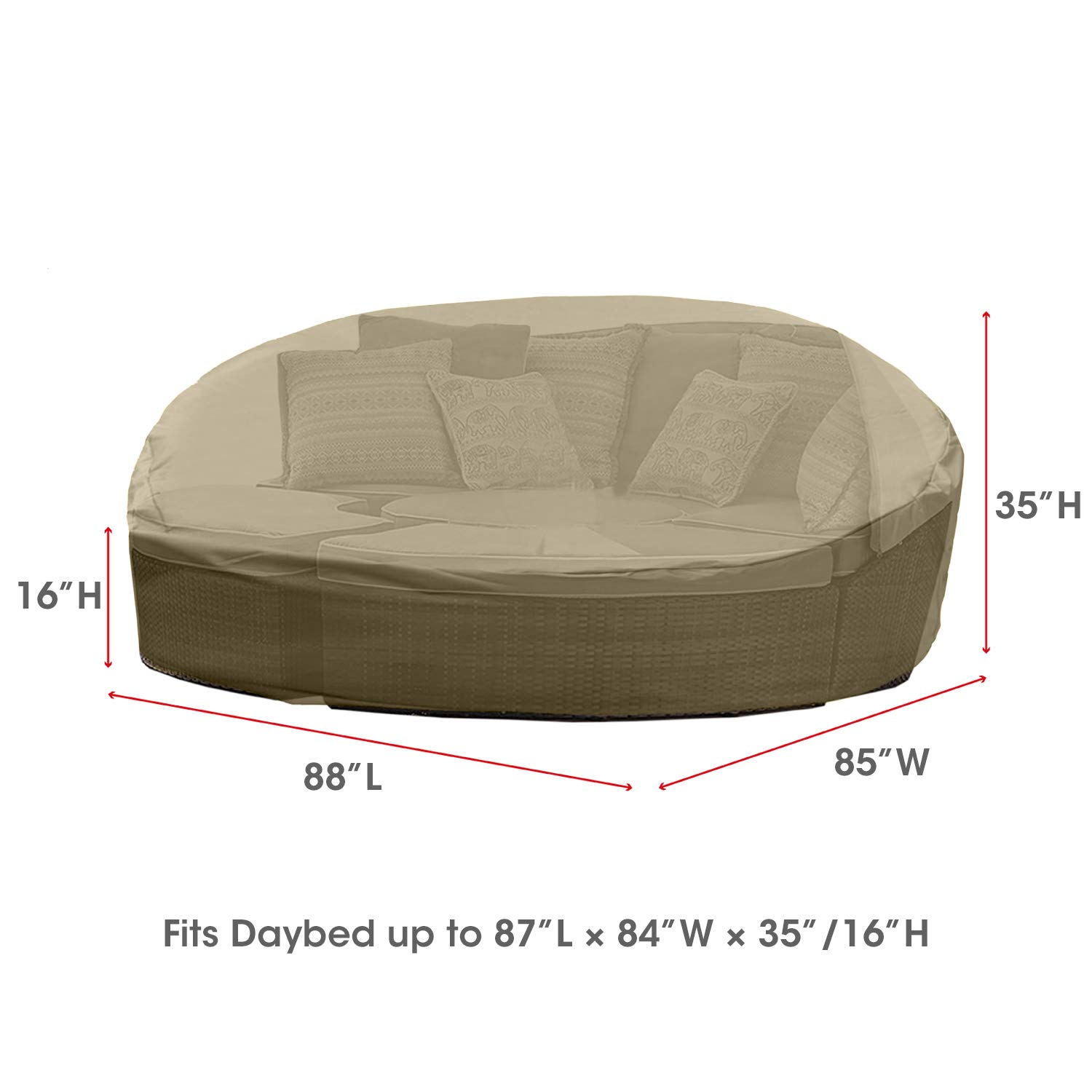 Outdoor Daybed Furniture Covers