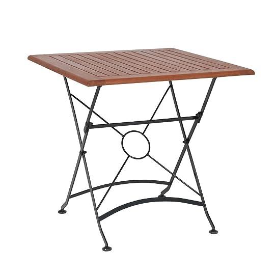 greemotion Table de jardin pliante Borkum - table de jardin 2 ...