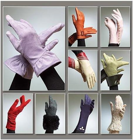 istruzioni in inglese Vogue Cartamodello per guanti