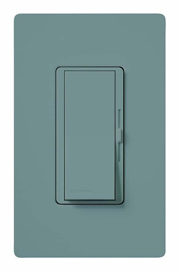 Lutron Diva Dimmer Switch for Halogen and Incandescent Bulbs, Single ...