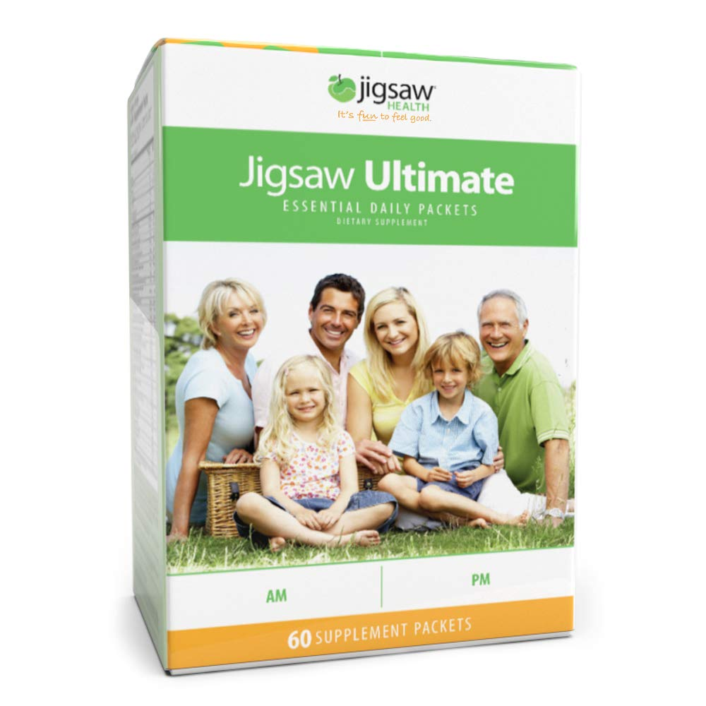 Jigsaw Health Ultimate Essential Daily Vitamins Packets, 1.9 Pound