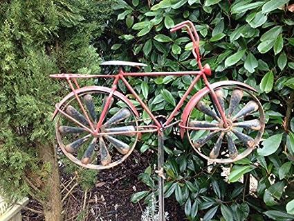 Tricycle/Vélo pour décoration de jardin Moulin à vent ...