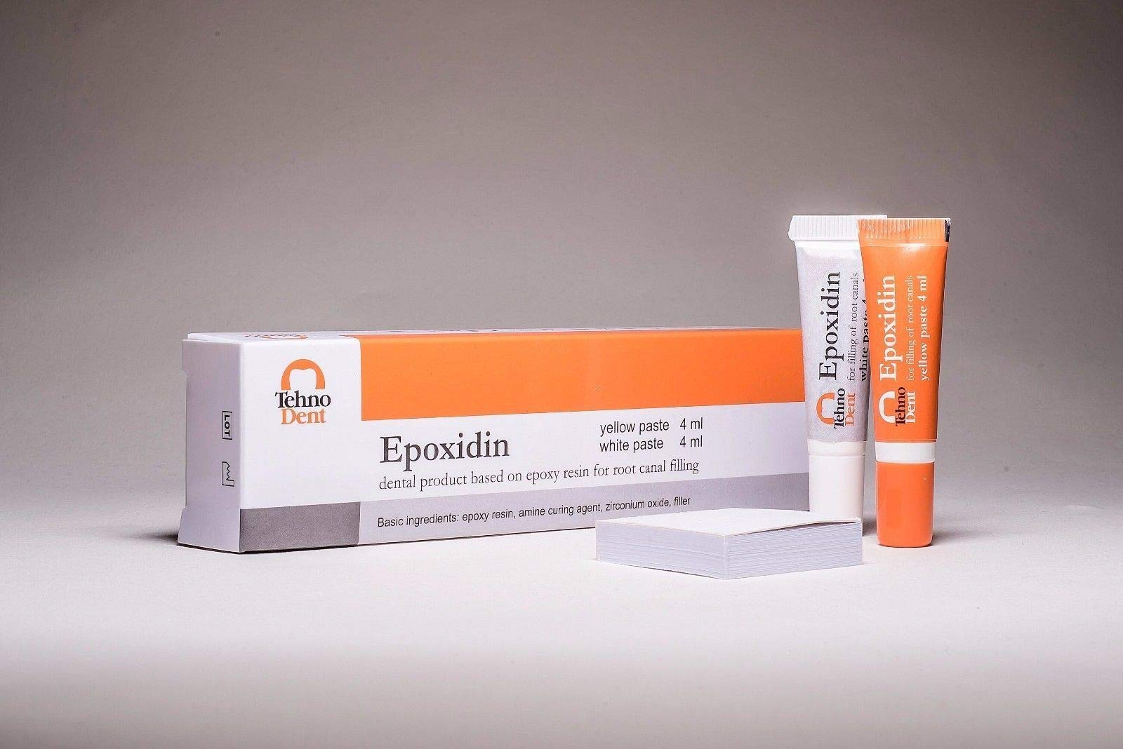 Epoxidin Dental Product Sealer Based on epoxy Amine Resin Same as AH Plus