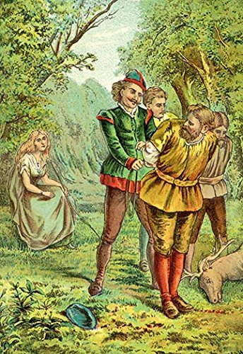 Buyenlarge Robin Hood (Buyenlarge Robin Hood: Argument, Fight, Capture - Gallery Wrapped 28