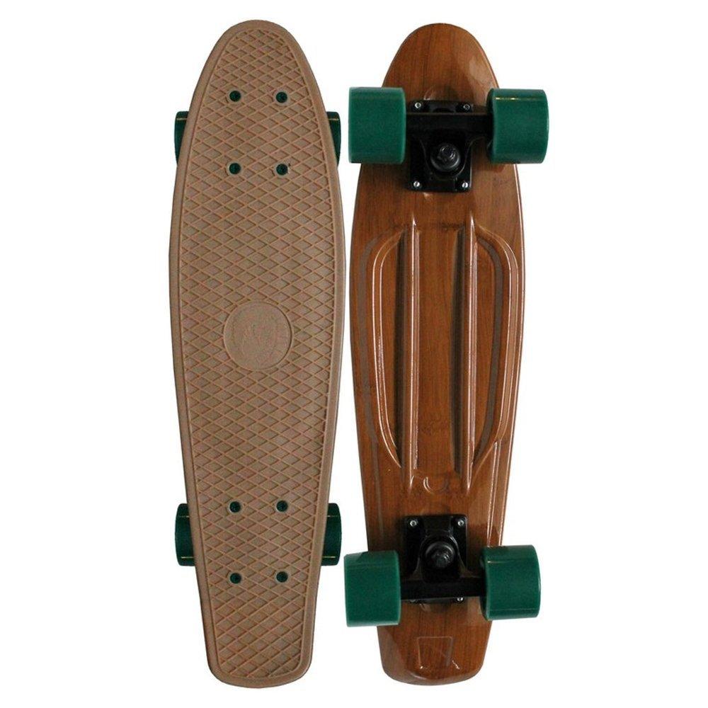 PARADISE Plastic Skateboard Wood 22 Keystone Skate Supply PAPL-32