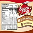 Snack Pack Chocolate And Vanilla Pudding Cups Family Pack 12 Count from ConAgra Foods Sales, Inc.