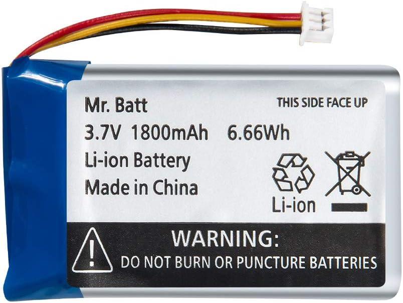 Bateria 3.7v 1800mAh (4.8cm x 3.6cm x 7.6mm) li-ion