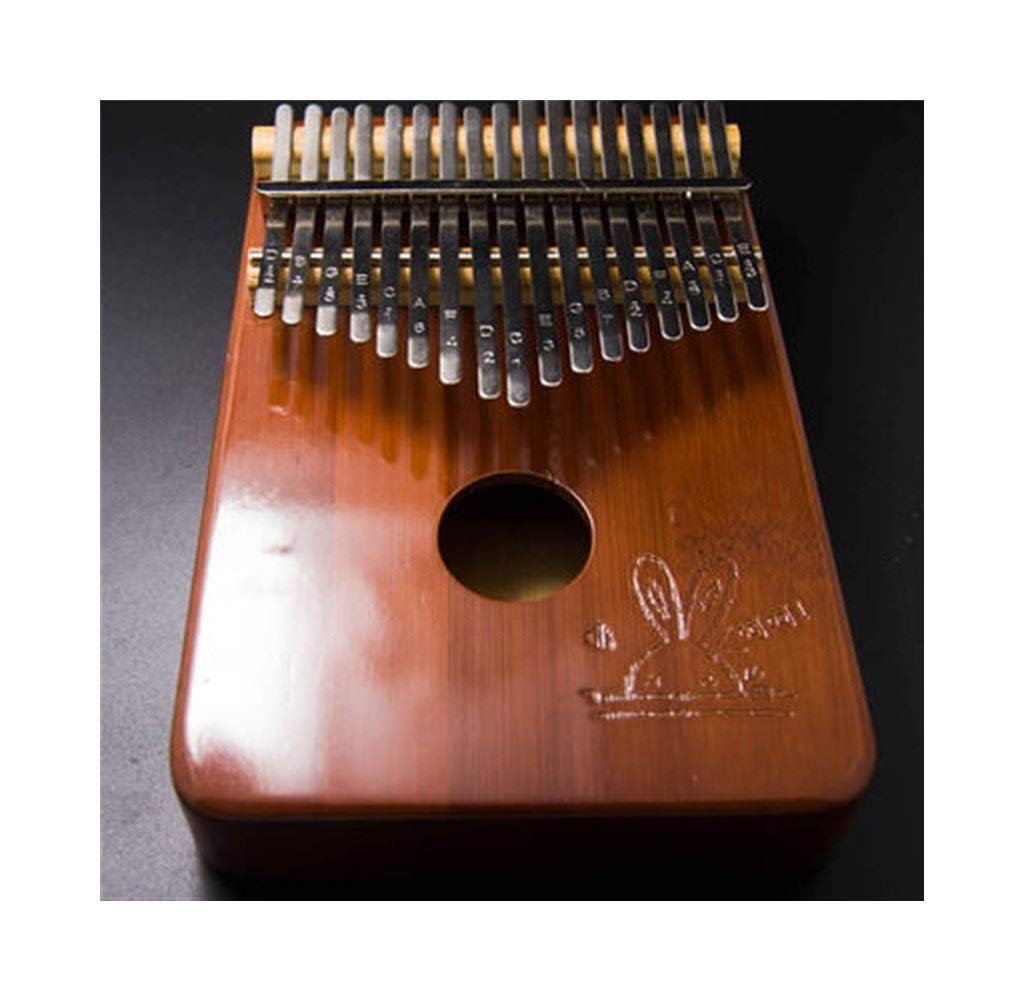 Youshangshipin Kalimba, 17-key thumb piano, suitable for professional performance (gift; velvet bag, thumb piano, tuning hammer) Classical style (Color : 6) by Youshangshipin (Image #1)