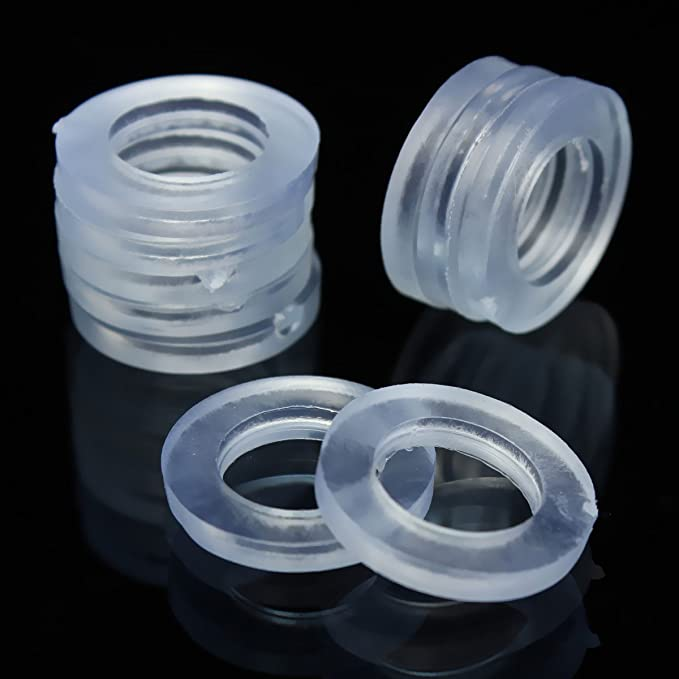"""10Pcs 1//8/"""" 1//2/"""" 3//4/"""" Rubber Shower Hose Washers Rings For Tube Pipe Bath Head .."""