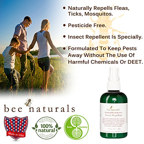 Bee Naturals Best Natural Mosquito Repellent Deet
