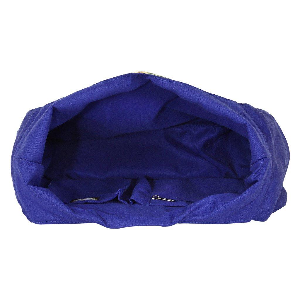 Anekaant Flora Cotton Casual Hobo Bag
