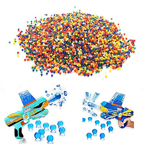 - lan yue guang chuan mei Ltd. 2000 PCS Children's Shooting Game Water Beads Children Toys Water Bullet Special Water Bullet (11-13mm)