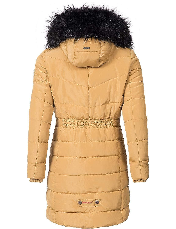 6896fd955eb14a Navahoo Damen Winter Mantel Steppmantel Paula (vegan hergestellt) 12 Farben  XS-XXL: Amazon.de: Bekleidung