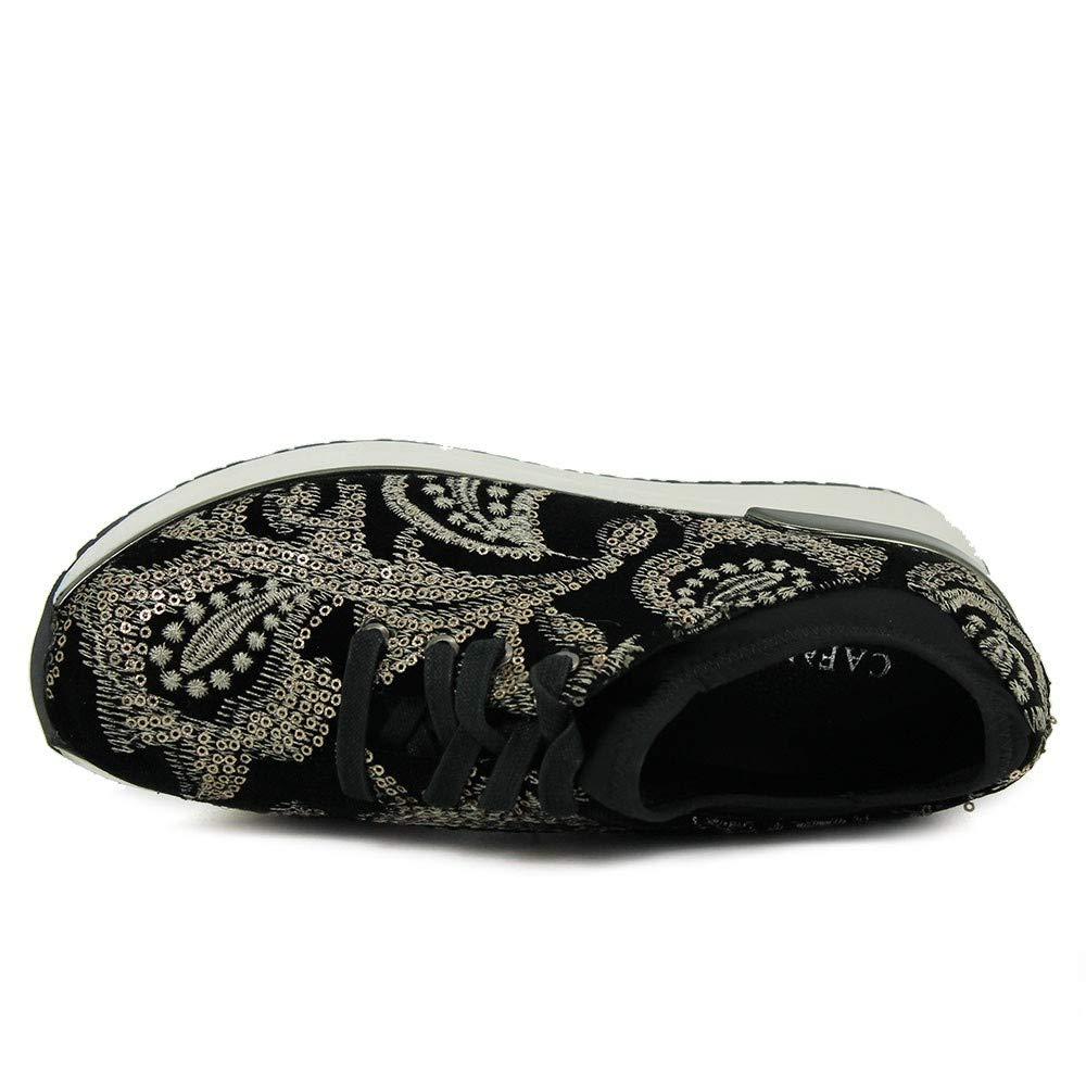 Bordado De Noir Terciopelo Jdd912 Amazon es Zapatos Sneakers Cafè dtaXqt