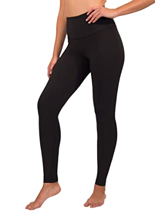 1a10633ffe9ab 90 Degree By Reflex High Waist Squat Proof Interlink Leggings for Women -  Black - XS