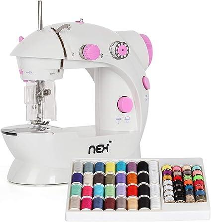 NEX máquina de coser, mini máquina de coser multifuncional ...