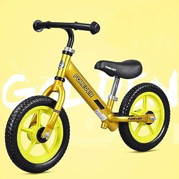 Los ninos Impulsor Bicicleta para niños y niñas Bicicleta sin ...