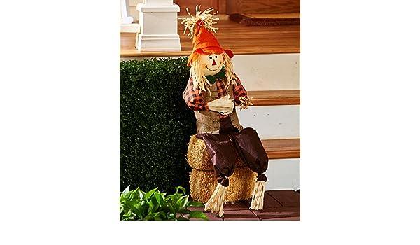 Whimsical Vibrant Harvest porche Patio Greeter caída otoño Decor ...