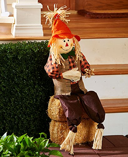 Whimsical Vibrant Harvest porche Patio Greeter caída otoño Decor ...