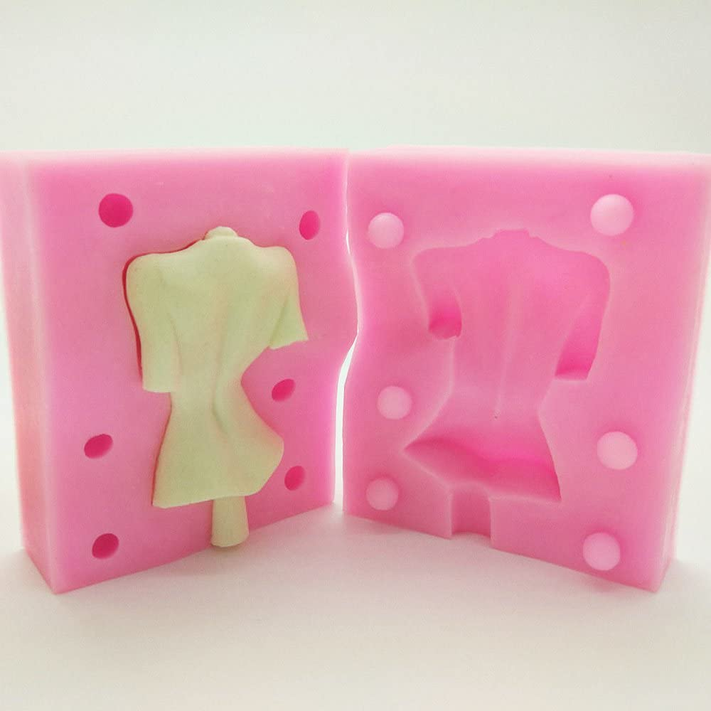 Female Naked Body T-Back Silicone Mold for Clay Aicheng 3D Woman Nude Clay Mold Fondant Female Naked Body Silicone Mold Soap,Cake Decoration Baking Tools