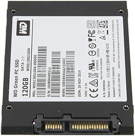 WD Green PC SSD - Disco Duro sólido de 120 GB (Serial ATA III, SLC, 2.5
