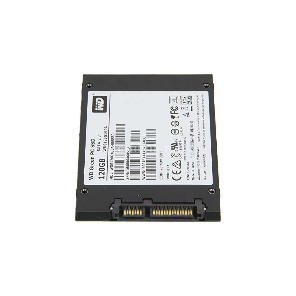 Western Digital Green 25 120gb Sata3 Ssd Wds120g1g0a Wd 240gb Computers Accessories