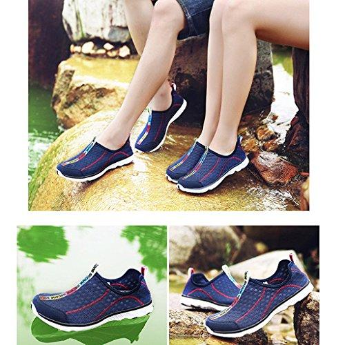 Eagsouni Chaussures À Eau À Séchage Rapide Pour Femme Bleu Marine
