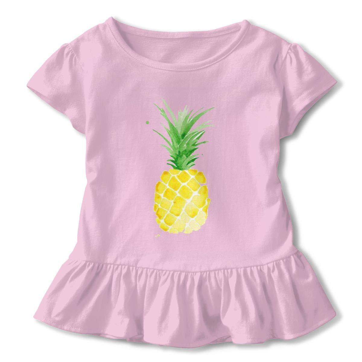 Happy-girl Ye Pineapple Outdoor Lover Short-Sleeve Tunic T-Shirt