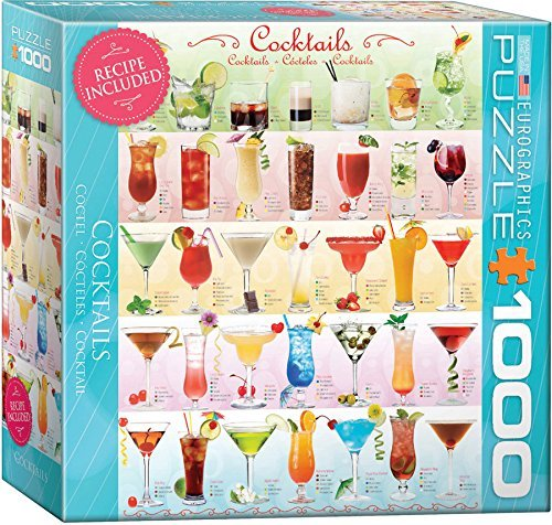 EuroGraphics Cocktails Jigsaw Puzzle (1000-Piece) by EuroGraphics