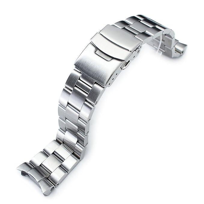 22mm Metal Band SS222003B010(D) - Correa de acero inoxidable, color plateado (22): Amazon.es: Relojes