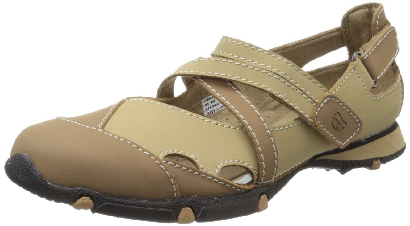 Golfstream Women's Golfstream Softee Golf Shoe,Brown/Beige,7.5 M US