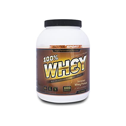 SOTYA Proteína Whey 100% Plátano con Yogurt 1 kg